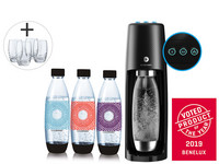 SodaStream Spirit One Touch | Schwarz