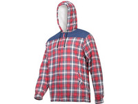 Flanell Hoodie L4180
