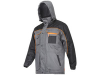 Jacke L4092 Grey-Black-Orange