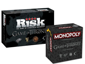 Game of Thrones Spellenbundel | Risk + Monopoly