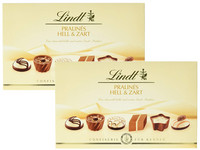 2x 200 g Lindt Pralines Light & Soft