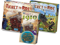 Spellenbundel Ticket To Ride | 3 Spellen