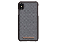 iPhone Xs Max Cover | Brown / Check