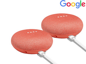 2x Google Home Mini | inteligentny głośnik