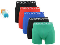 5x Muchachomalo Light Cotton Solid Boxer