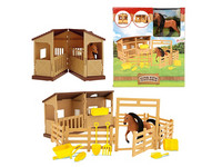 Toi Toys Paardenstal + Accessoires