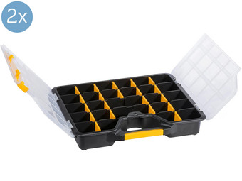 2x Allit EuroPlus Basic Toolbox