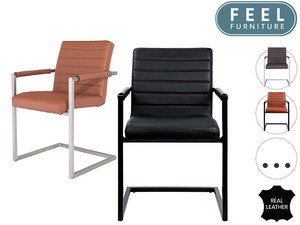 Feel Furniture Leren Stoel