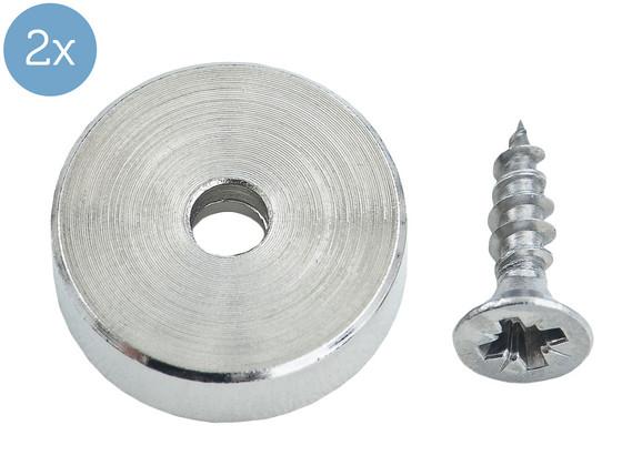 Korting 2x Connex Magneet   7.5 kg   16 x 4.5 x 3.5 mm