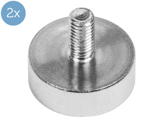 Korting 2x Connex Magneet | 12 kg | Ø 20 x 7 mm
