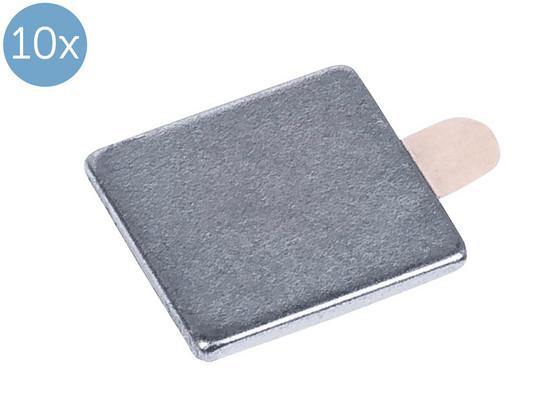 Korting 10x Connex Magneet   0.5 kg   10 x 10 x 1 mm