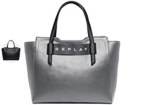 Replay Printed Logo Shopper | Dames