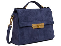 Replay Suede Blue Handtas | Dames