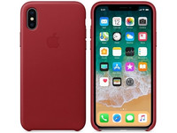 Apple iPhone X Leren Hoesje