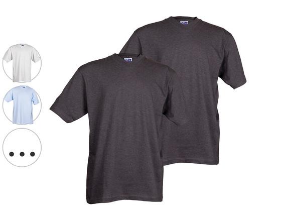 Korting 2x Alan Red T Shirts Montreal | V Hals