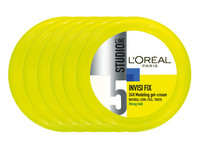 6x L'Oréal Invisi Fix 24H Strong Hold Gel
