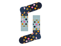 2x Happy Socks Big Dot | Größe 41 - 46