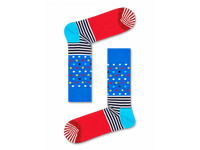 2x Happy Socks Stripe & Dot | Größe 41 - 46