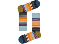 2x Happy Socks Multi Stripe | Größe 41 - 46