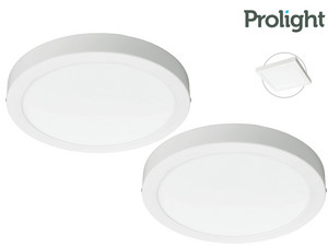 2x Prolight LED Plafondlamp Villo