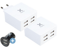 USB Adapter | 4 Poorten