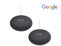 2x Google Home Mini Lautsprecher
