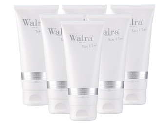 6x Walra Body & Soul Duschpeeling | 200 ml