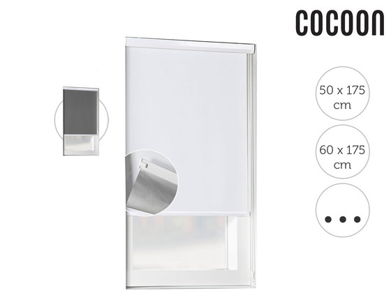 Korting Cocoon Cassette Verduisterend Rolgordijn