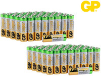 80x GP Alkaline Super Batterie | AA