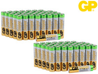 80x GP Alkaline Super Batterie | AAA