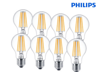 8x Philips LED-Lampen | E27