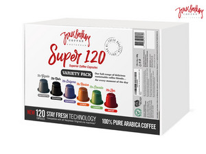 120x Jones Brothers  Koffie Capsules