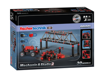 Fischertechnik Profi Mechanic & Static