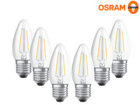 6x Osram Dimmbare LED-Lampen | 5 W