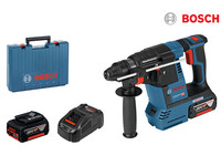 Bosch Akku-Bohrhammer + Akkus