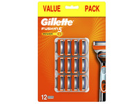 12x Gillette Fusion5 Power Rasierklinge