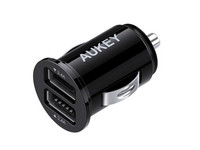 Aukey CC-S1 Dual USB Car Charger | 4.8 A