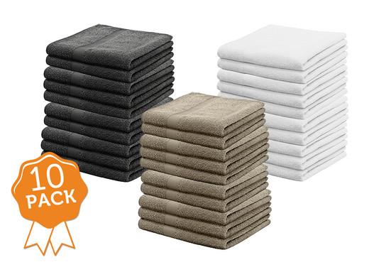 10 walra hotelkwaliteit handdoeken 50x100 cm - internet's best