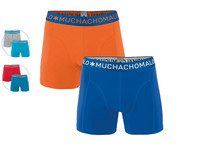 2x Muchachomalo Solid Boxershorts