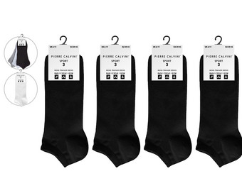 12x Pierre Calvini Sneakersocken