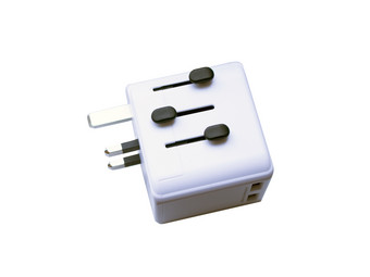 Adapter podróżny | 2x USB | 230 V