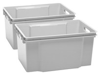 2x Keter Crownest Opbergbox | 50 L