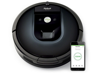 iRobot Roomba 980 Robotstofzuiger | Black Edition