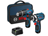 Bosch Twin Kit 12 V | 2x 2.0 Ah Accu