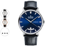 Edox Les Bémonts Day Date | Heren