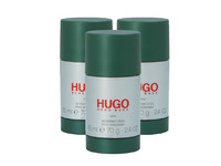 3x Hugo Boss Hugo Man Deo | 75 ml