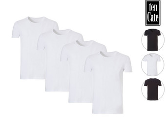 4x Ten Cate Organic Basic T-Shirt (Heren)