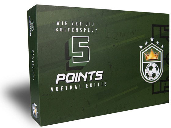 Korting 5 Points Game | Voetbal Editie