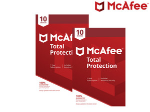 Gutschein: McAfee Total Protection
