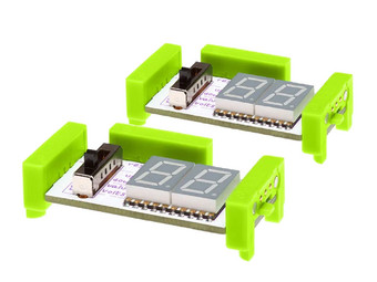 2x littleBits Number Plus Bit